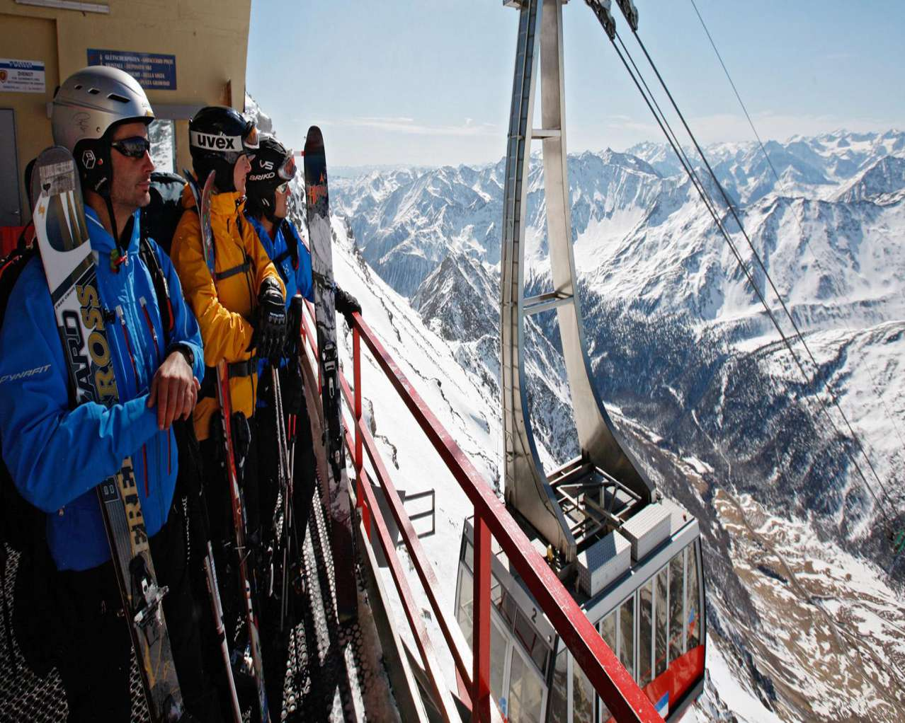 Горнолыжный курорт Val Senales Glacier 8