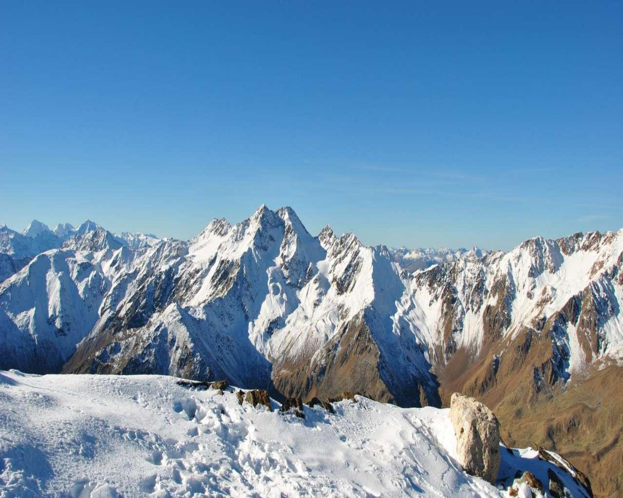 Горнолыжный курорт Val Senales Glacier 9