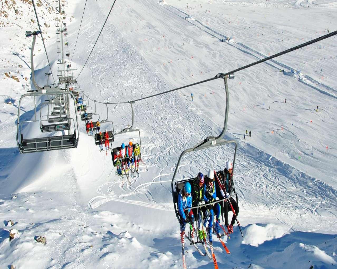 Горнолыжный курорт Val Senales Glacier 10