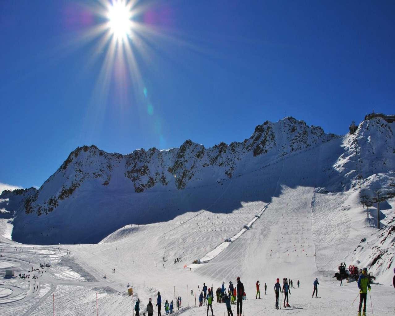 Горнолыжный курорт Val Senales Glacier 11