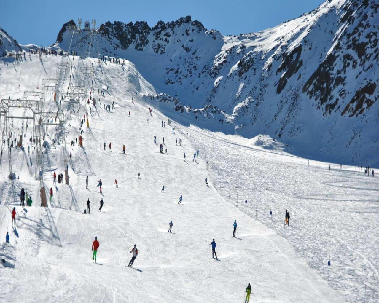 Горнолыжный курорт Val Senales Glacier 4