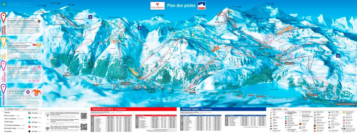 Горнолыжный курорт Tignes / Val d'Isère 2