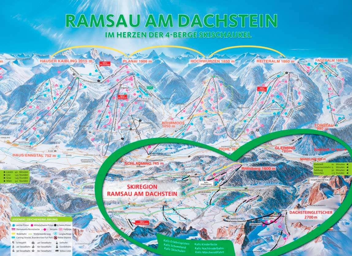 Горнолыжный курорт Ramsau am Dachstein – Rittisberg 2