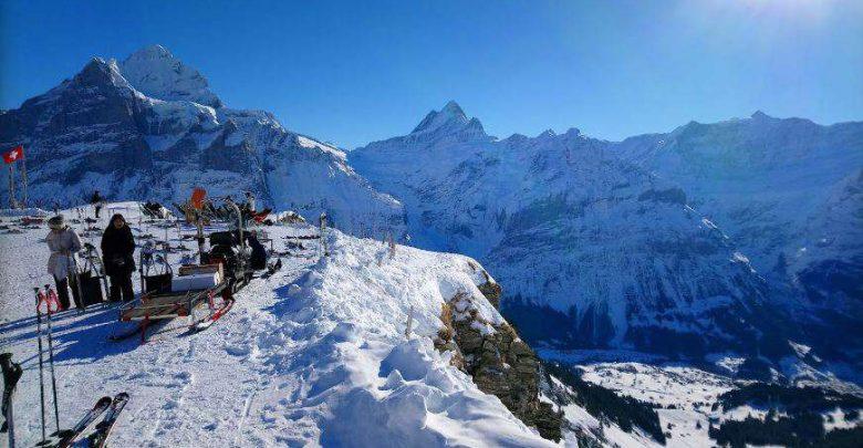 Горнолыжный курорт First – Grindelwald 1