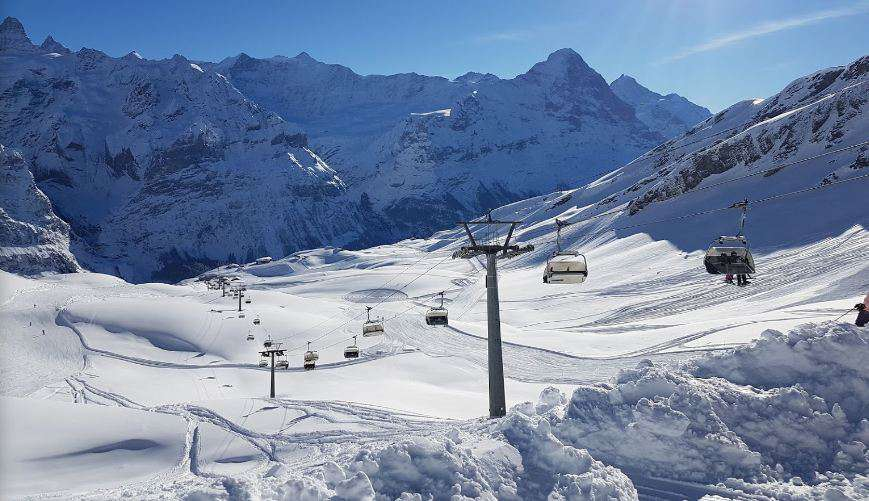 Горнолыжный курорт First – Grindelwald 6