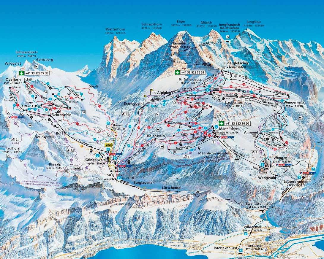 Горнолыжный курорт First – Grindelwald 3