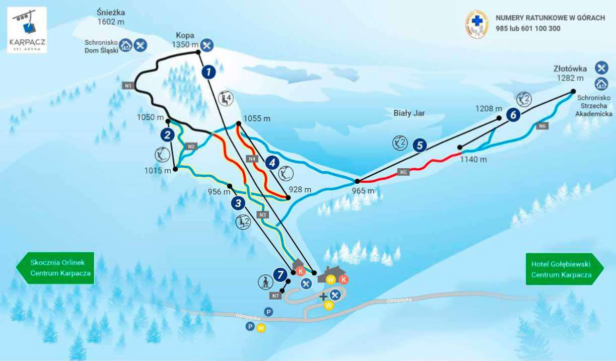 Горнолыжный курорт Śnieżka – Karpacz 2