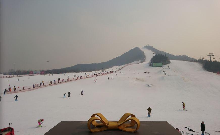 Горнолыжный курорт Lianhuashan 4