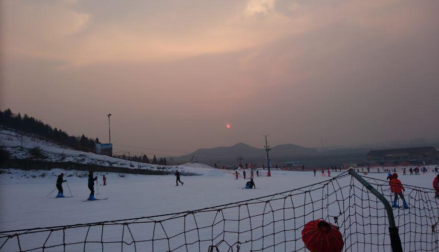 Горнолыжный курорт Lianhuashan 5