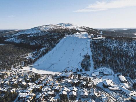 Финский Леви уже подготовился к новому горнолыжному сезону 1