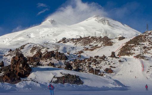 Новая горнолыжная трасса будет готова к предстоящему зимнему сезону на курорте «Эльбрус» 1