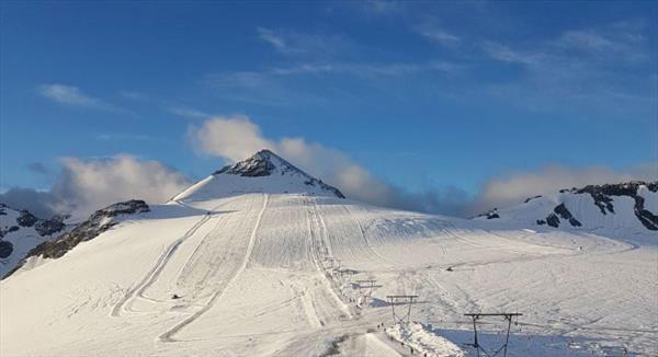 Итальянские ледники начинают открываться для горнолыжников 1
