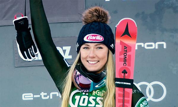 Микаэла Шиффрин приступила к лыжным тренировкам в Коппер-Маунтин 1