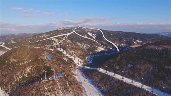 На горе Чёрный Салан построят горнолыжный комплекс 1