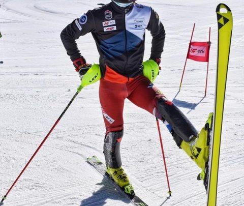 Российские горнолыжники занимаются физподготовкой перед вторым лыжным сбором в Терсколе 1