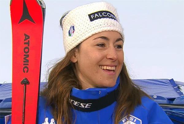Итальянки возобновляют лыжные тренировки на Стельвио 1