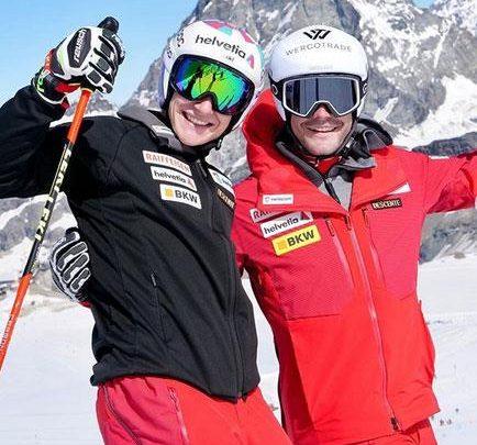 Марко Одерматт приступил к лыжным тренировкам 1