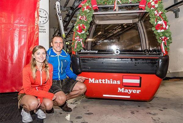 Маттиас Майер получил вторую именную гондолу в Кицбюэле 1