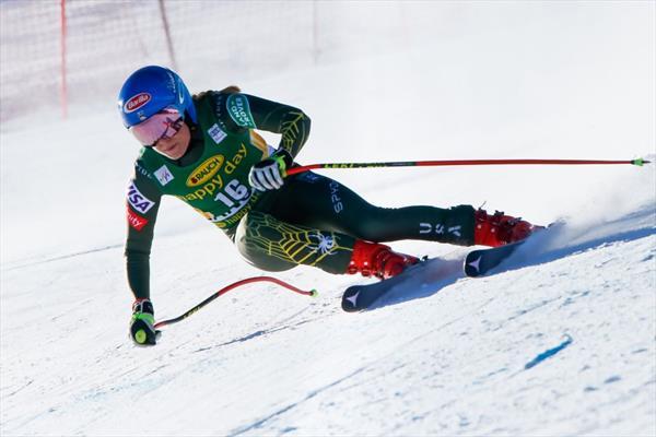 Микаэла Шиффрин приступила к лыжным тренировкам в Маунт Худ 1