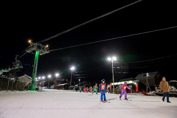 Систему освещения трассы «Юг» начали строить на сахалинском СТК «Горный воздух» 1