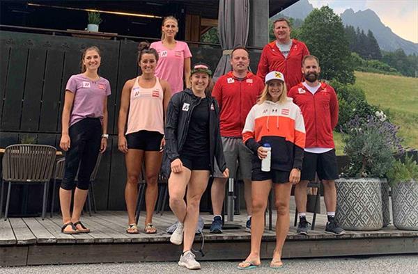 Женская сборная Австрии интенсивно готовится к новому сезону 1