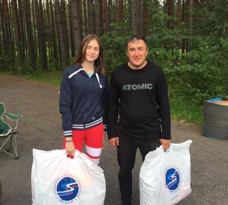 Алиса Литвин — победительница Кубка РФГС среди девушек до 16 лет 1