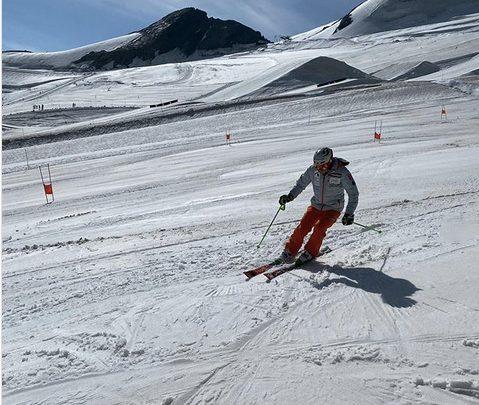 Хенрик Кристофферсен вернулся на снег после травмы 1