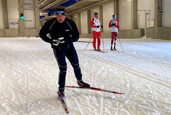 Немецкие горнолыжники начали тренировки… на беговых лыжах 1