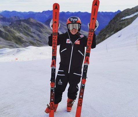 Одна из перспективных спортсменок сборной Австрии возвращается к тренировкам после травмы 1
