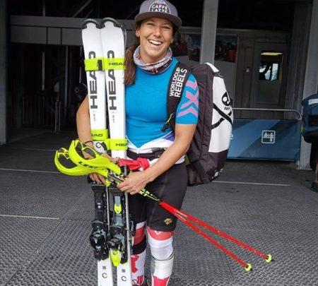 Женская сборная Швейцарии тренируется в Церматте 1