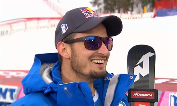 Лидер итальянских горнолыжников начал тренировки на снегу после травмы 1