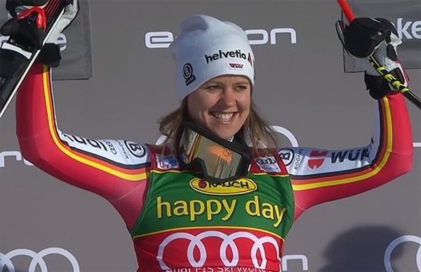 Лидер женской сборной Германии Виктория Ребенсбург объявила о завершении своей горнолыжной карьеры 1
