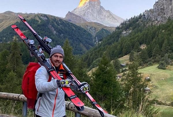 Обладатель «Большого хрустального глобуса» тренируется в Швейцарии 1