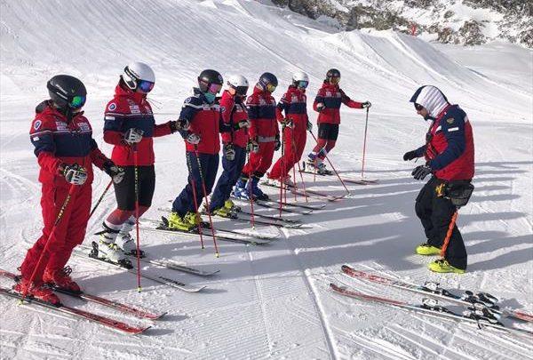 В Саас Фе российские горнолыжники продолжают подготовку к открытию сезона в Зельдене 1
