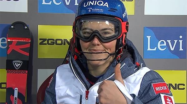 Петра Влхова захватила лидерство в Леви после первой гонки, россиянки не финишировали 1