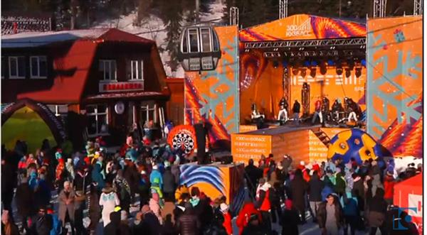 Шерегеш открыл зимний горнолыжный сезон 1