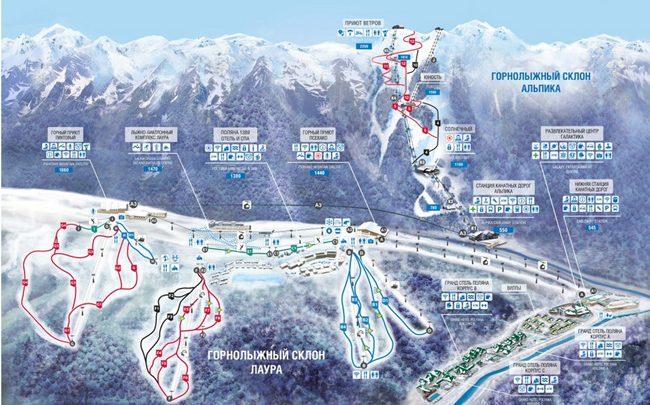 Стали известны даты открытия горнолыжных курортов России 1