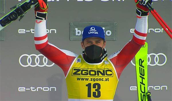 Австриец Майер выиграл скоростной спуск на Стельвио, норвежец Кильде возглавил общий зачет Кубка мира 1