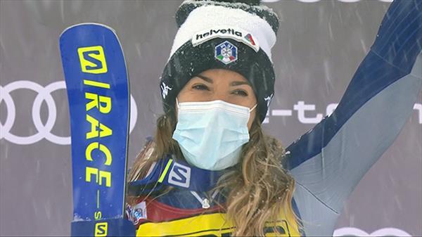 Итальянка Бассино выиграла слалом-гигант Кубка мира в Куршевеле, Катя Ткаченко не финишировала 1