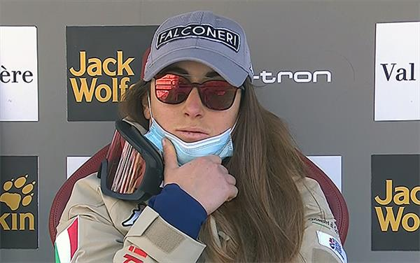 Итальянка Годжиа — победительница в сегодняшнем скоростном спуске Кубка мира во Франции, Юлия Плешкова — 23-я 1