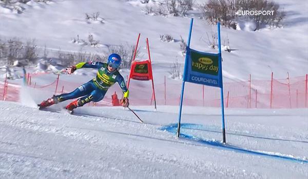 Микаэла Шиффрин выиграла перенесенный гигант в Куршевеле, Катя Ткаченко не прошла во вторую попытку 1