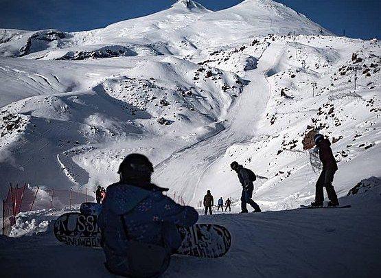 Новая горнолыжная трасса открыта на Эльбрусе 1