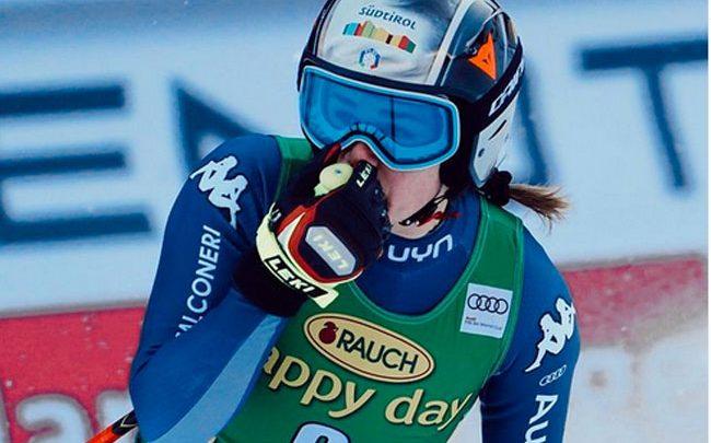 Одна из сильнейших итальянских горнолыжниц получила травму 1