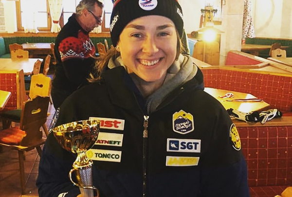 Софья Крохина выиграла заключительный слалом на этапе Кубка России в Кусе 1