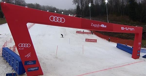 Александр Хорошилов будет сегодня единственным российским участником гонки Кубка мира в слаломе в Загребе 1