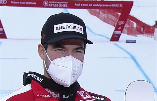 Австриец Крихмайр впервые в карьере выиграл супергигант в Кицбюэле 1