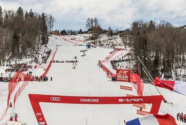 Австриец Шварц возглавил гонку слаломистов в Шамони, Александр Хорошилов — 9-й после первой попытки 1