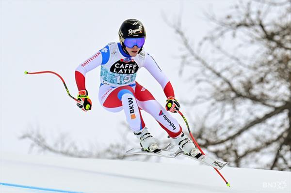 Ошеломляющая победа Лары Гут-Бехрами в супергиганте в Кран-Монтане, Юлия Плешкова не финишировала 1