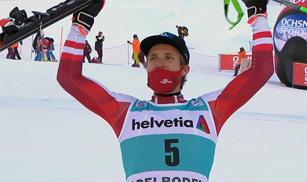 Победа австрийца Шварца в слаломе в Адельбодене, трагедия французов и 10-е место Александра Хорошилова 1