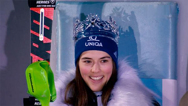 «Снежная королева»: трансляция первой попытки слалома из Загреба 1